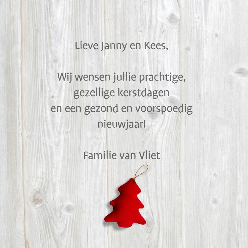 Lief Kerstkaart met kerstboompje 3