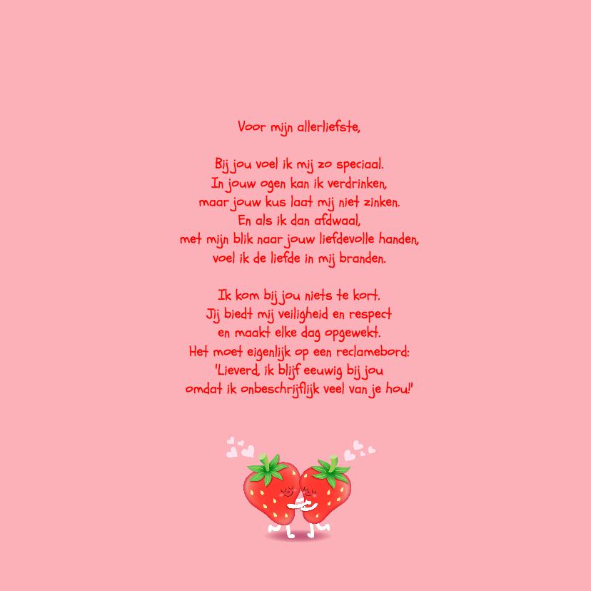 Liefde Aardbei  3