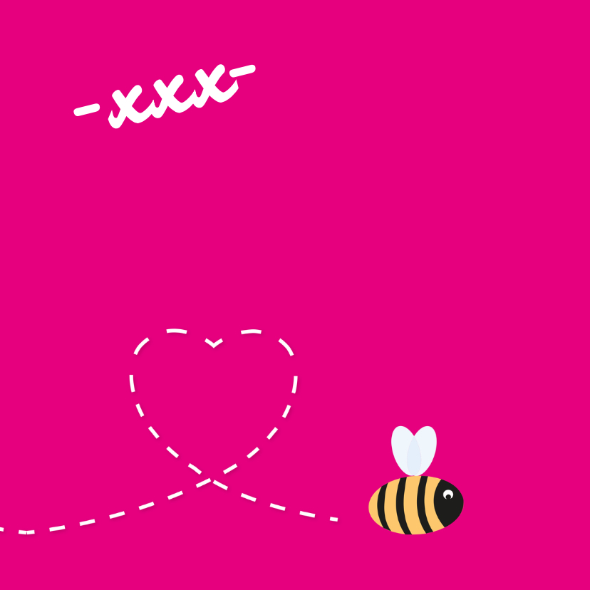 Liefde Bij kaartje geel - MD 3