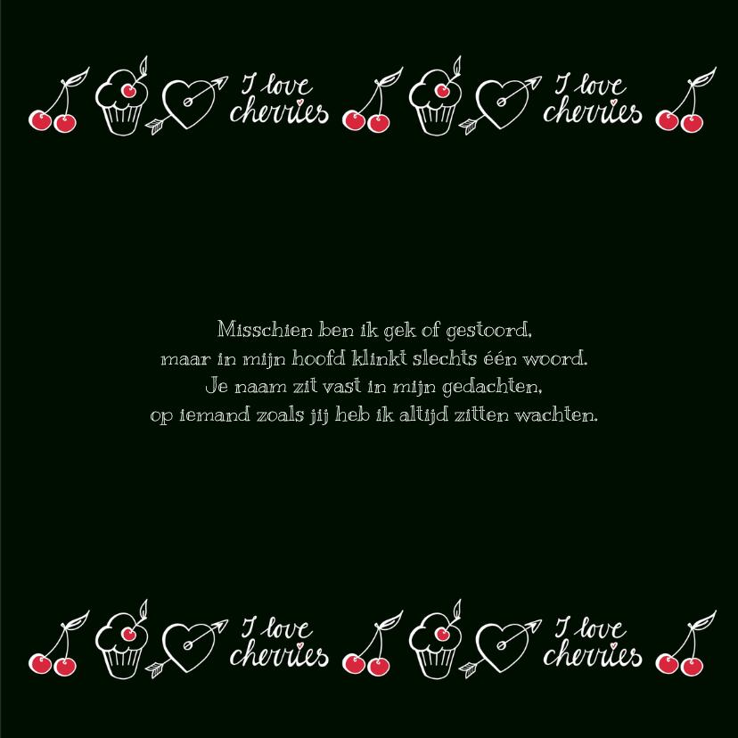 Liefde - cherry black 3