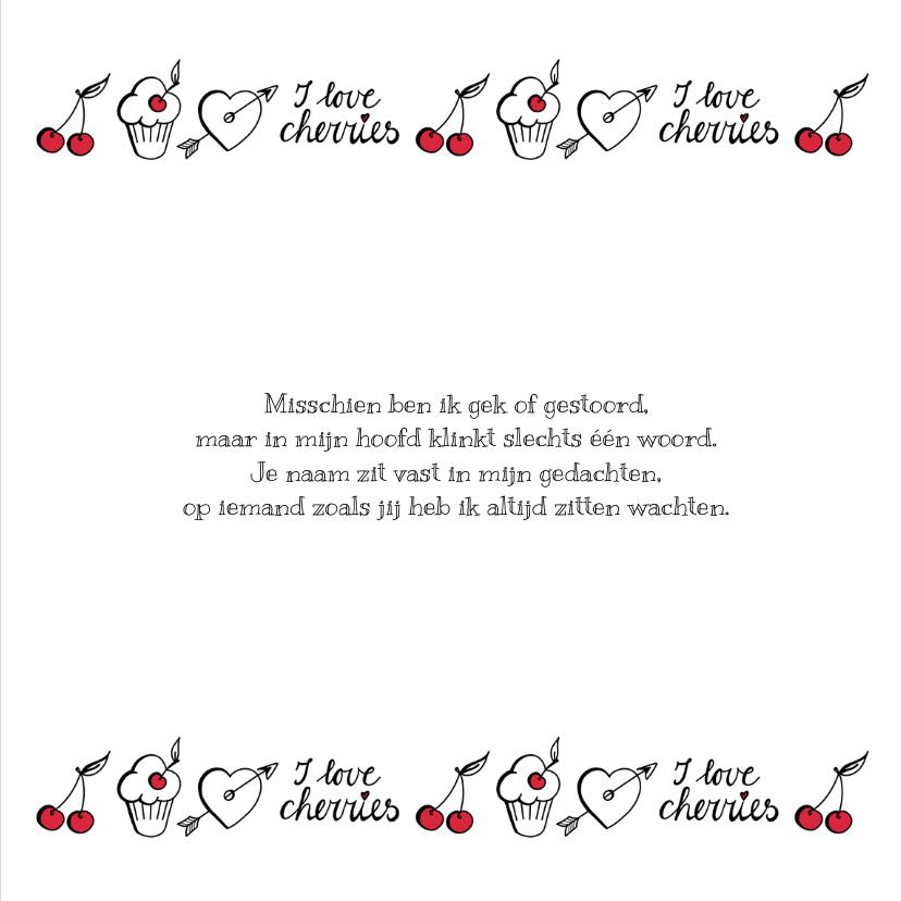 Liefde - cherry white 3