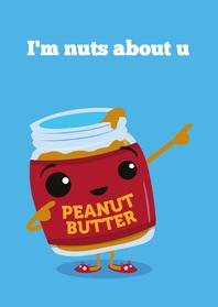 Liefde Funny Food Nuts
