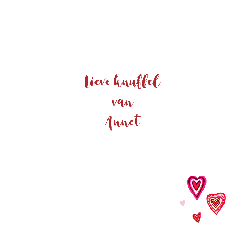 Liefde gekleurde hartjes 3