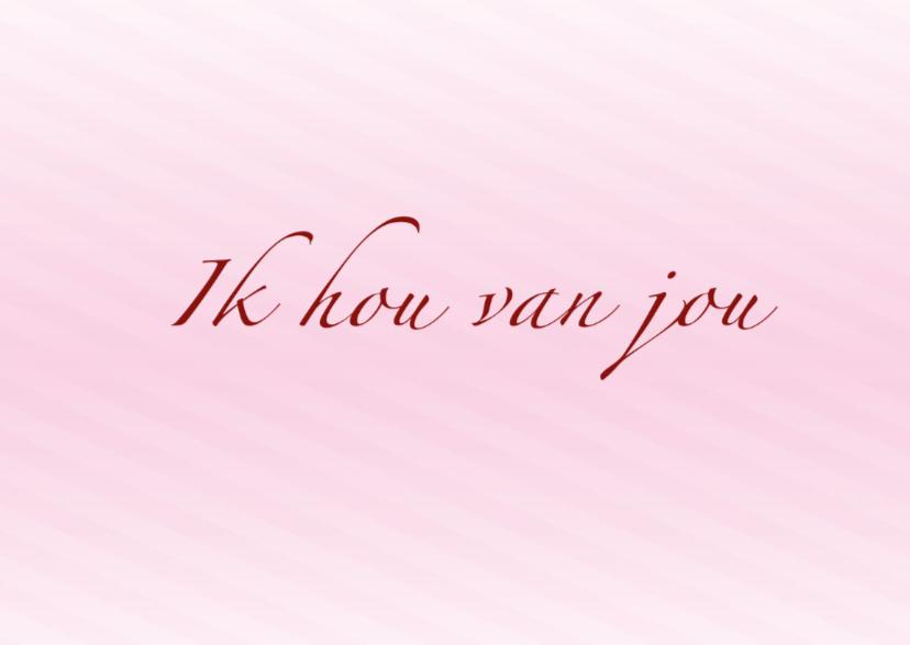 Liefde kaart altijd! - BK 2