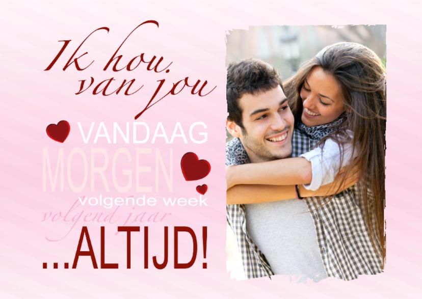 Genoeg Liefde kaart altijd! - BK - Valentijnskaarten - Kaartje2go HW55
