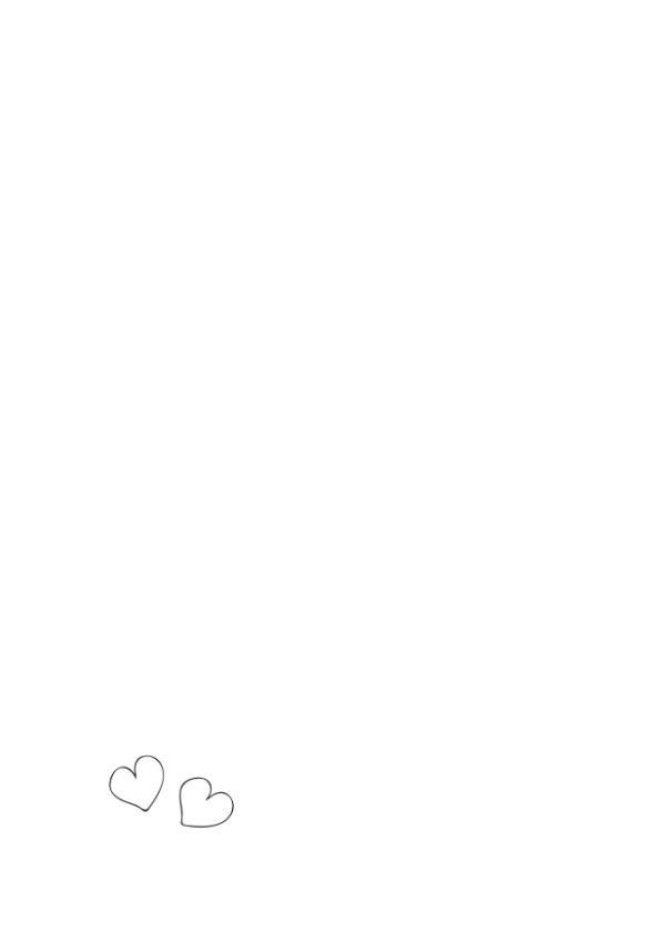 Liefde kaart - Hond hart ballon 2