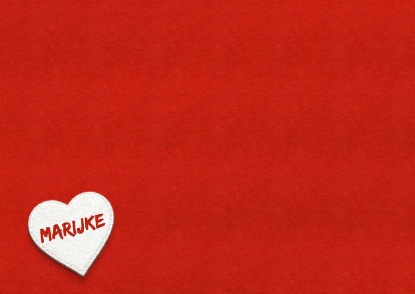 Liefde - love met naam 3