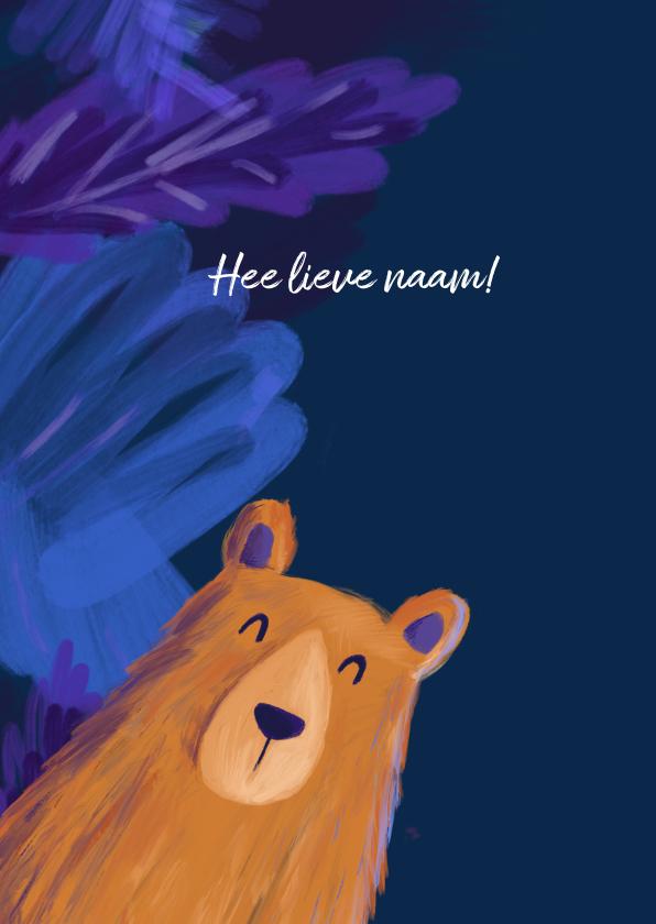 Liefdeskaart beer 2