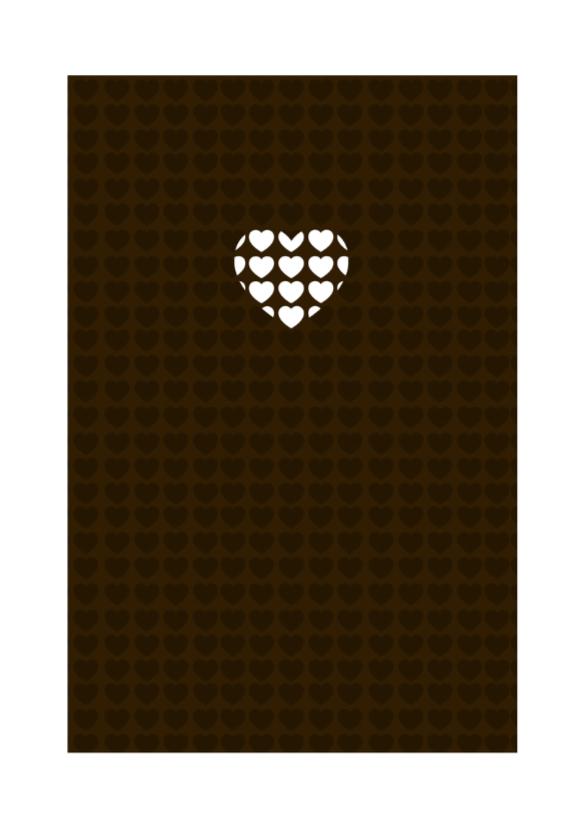 Liefdeskaart Chocolate - BK 2