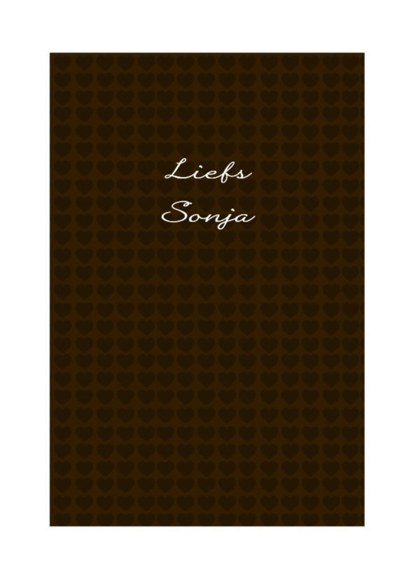 Liefdeskaart Chocolate - BK 3
