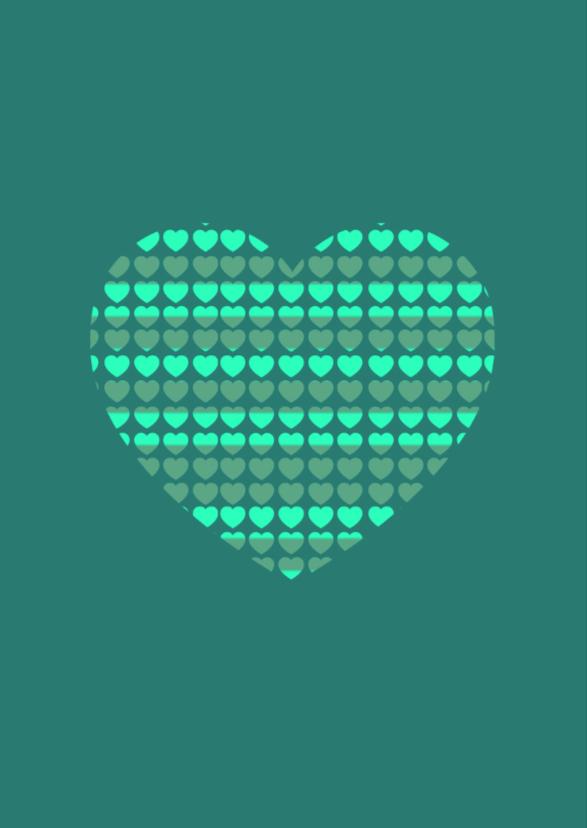Liefdeskaart groen - BK 2