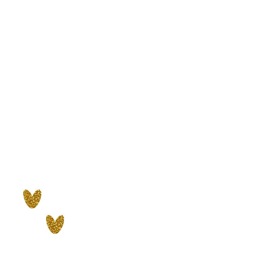 Liefs hart goud  2