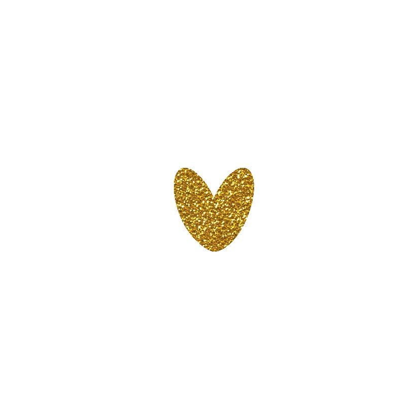 Liefs hart goud  3