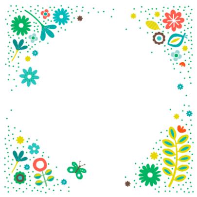 Liefs met groene bloemen 2