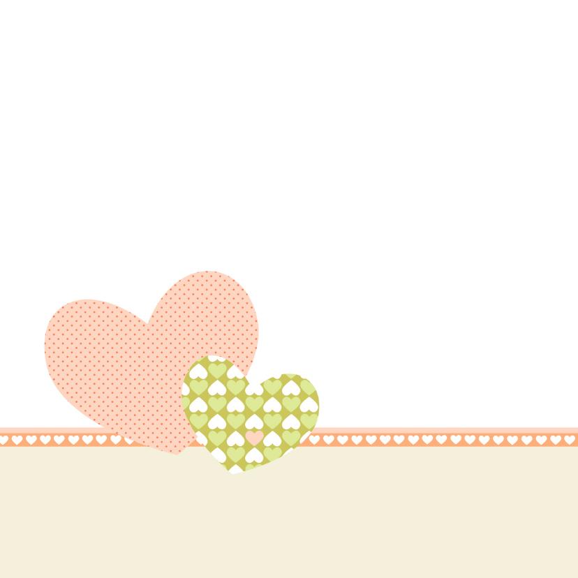 Liefs vosje en harten 2