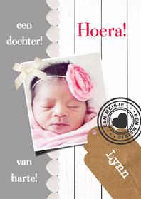 Felicitatiekaarten - Lieve geboortefelicitatie - DH