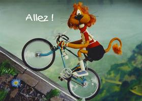 Wenskaarten divers - Loeki de Leeuw Tour de Lion