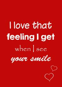 Valentijnskaarten - love feeling