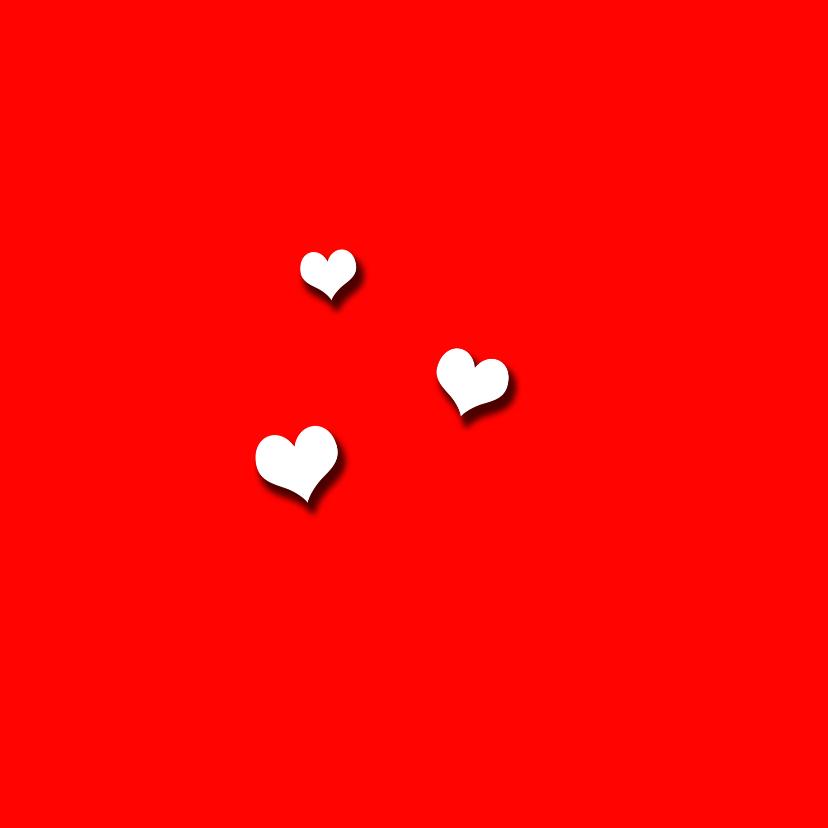 Love you! Hondje met hartjes bonbons 2