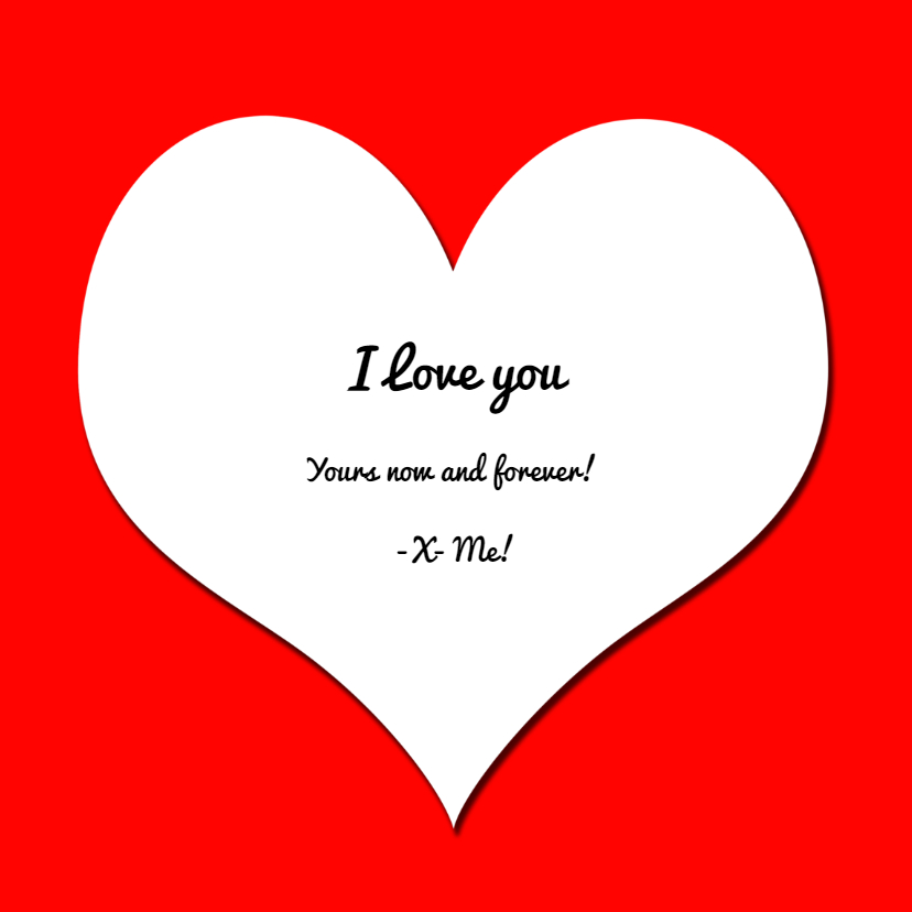 Love you! Hondje met hartjes bonbons 3