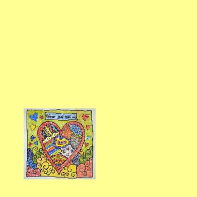 Love You kleurkaart 2