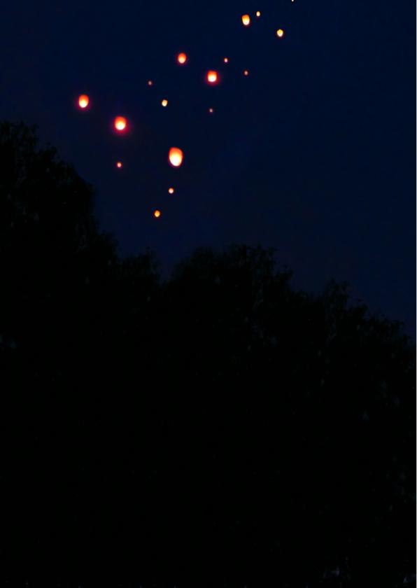 Lucht vol Wensballonnen 2