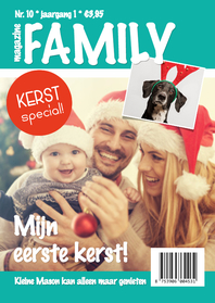 Kerstkaarten - Magazine kerst family - DH