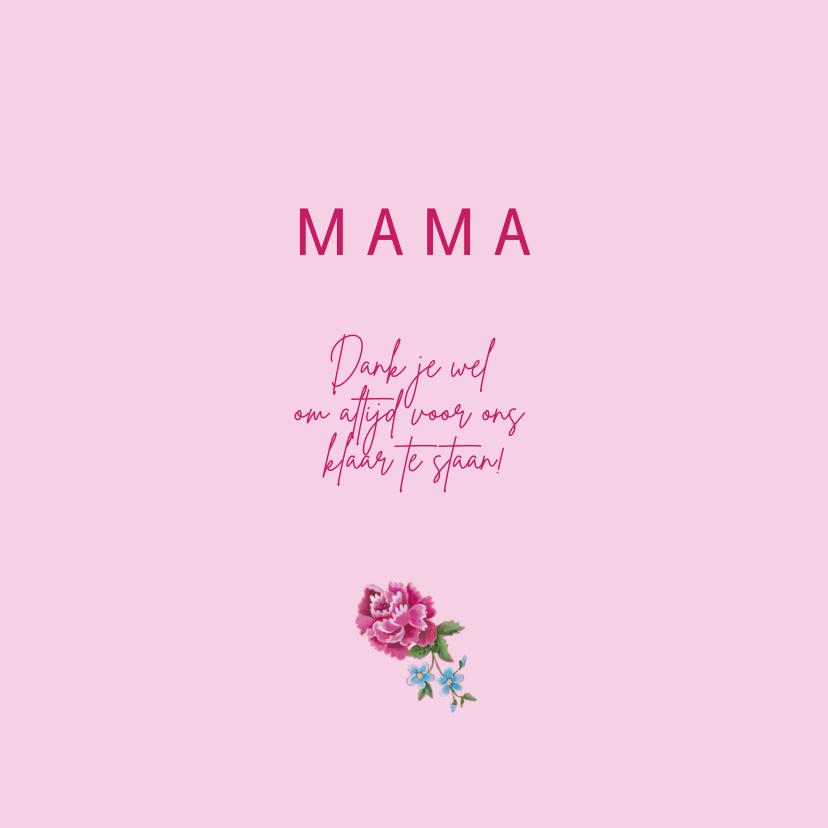 Mama Moederdag Hart Hout 3