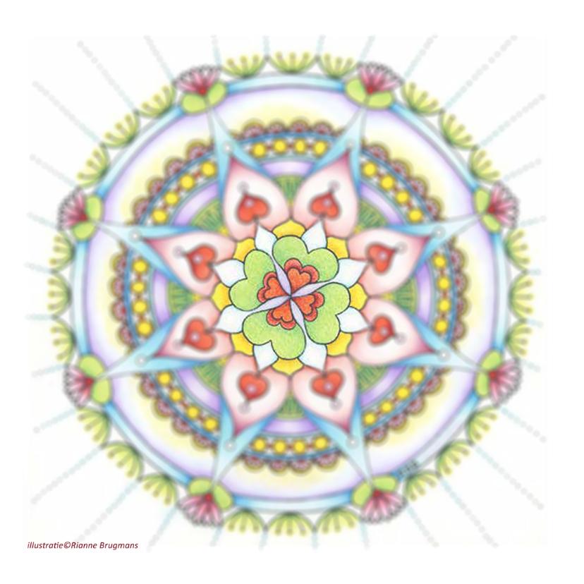 Mandala kaart Veel Geluk 2
