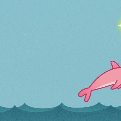 Meisje dolfijn 2
