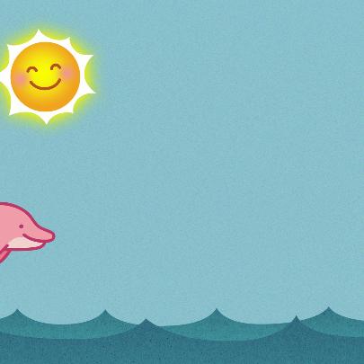 Meisje dolfijn 3
