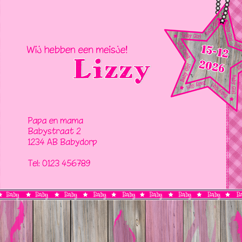 Meisje   Stoer lief girafje roze 3