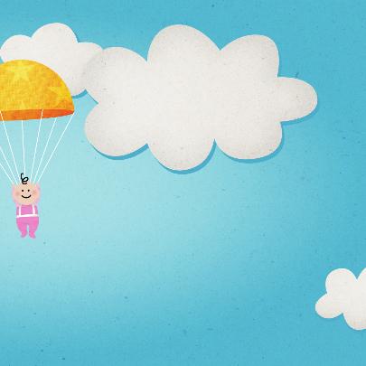 Meisje vliegtuig 3