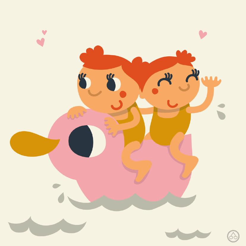 Meisjes tweeling , geboorte, NK