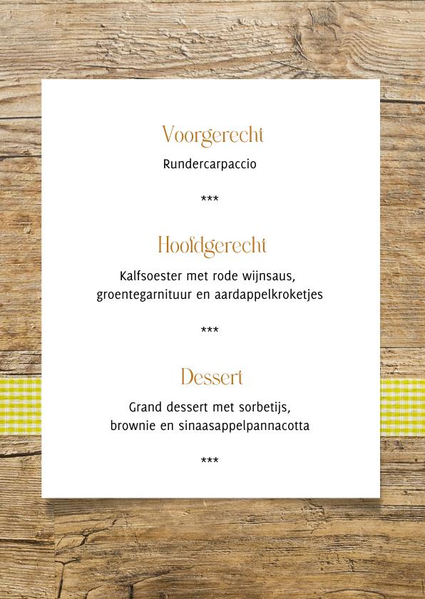 menukaart hout met bestek 3