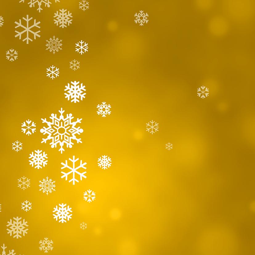 Menukaart kerst ijskristallen 2