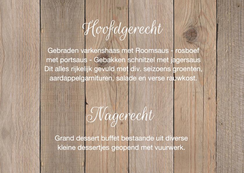 Menukaart krijtbordprint hartje houtlook 3