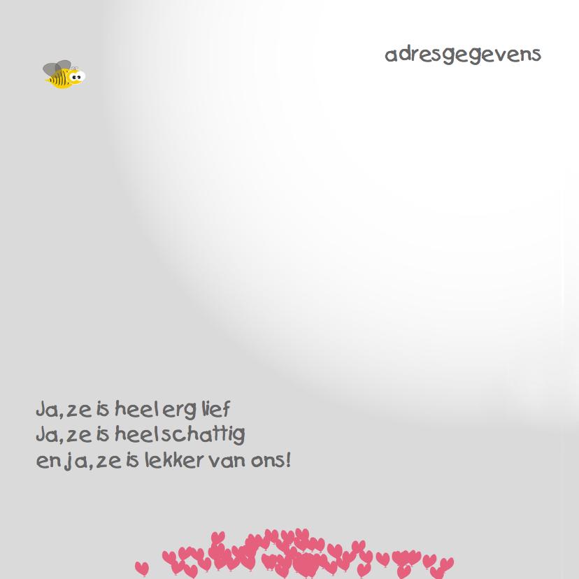 Mo Card olifant geboortekaartje hartje 2