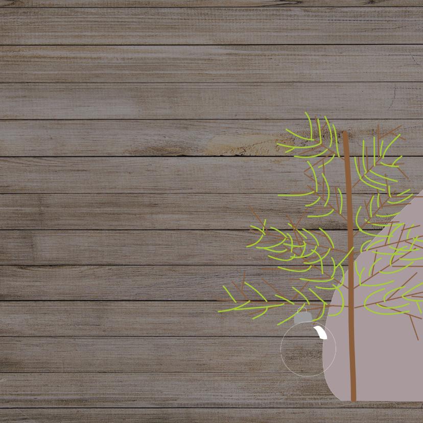 Mocards kerstkaart lelijke boom 2