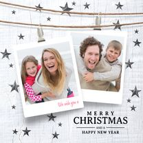 Kerstkaarten - Moderne kerstkaart labels
