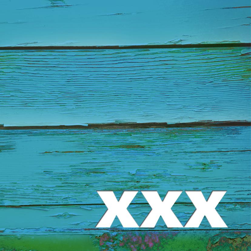 Moederdag hout blauw - SG 2