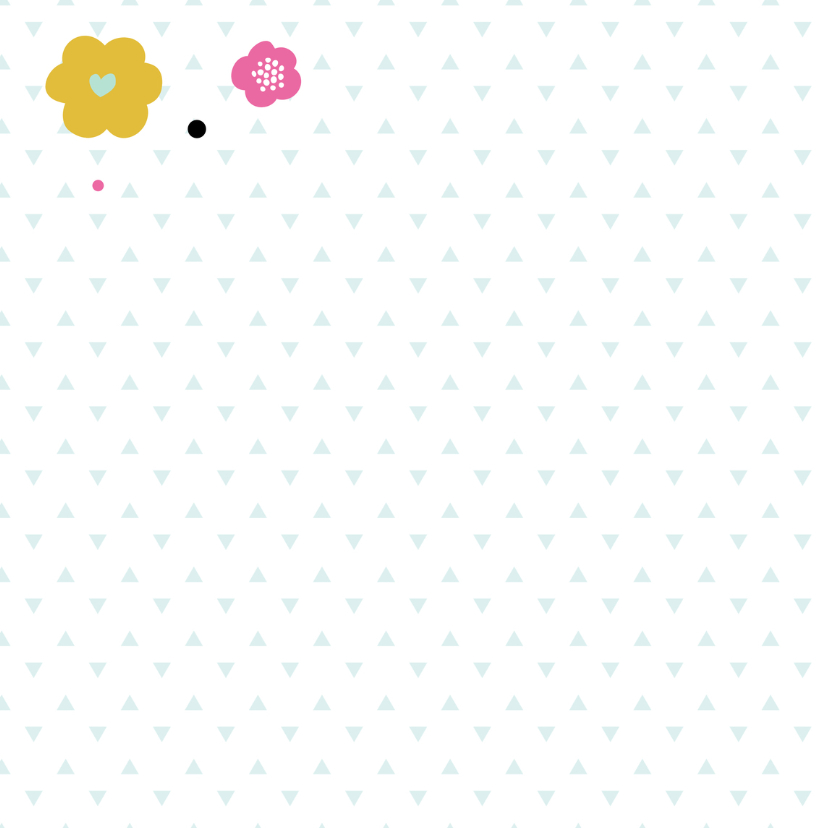 Moederdag kaart bloemen hartjes 2