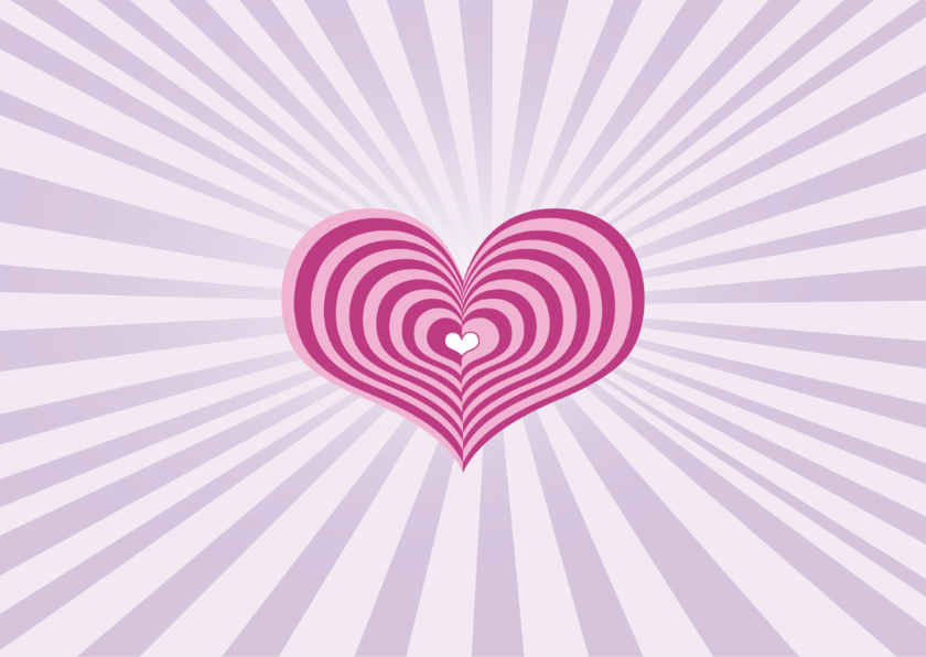 Moederdag kaart hart streep 2