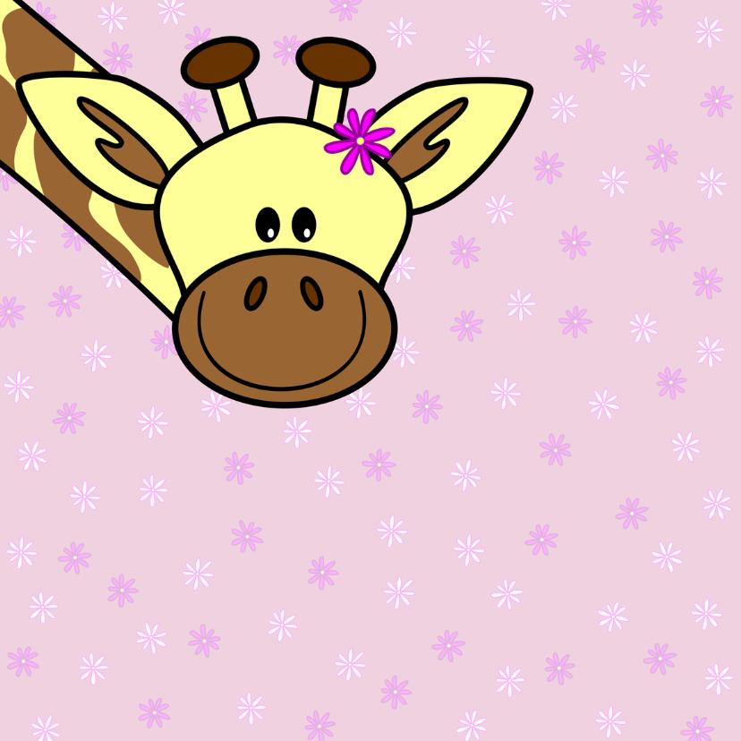 Moederdag   mama giraf en haar kindje 2