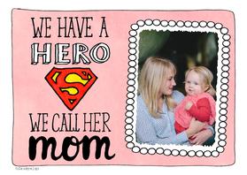 Moederdag kaarten - Moederdag We have a hero - SD
