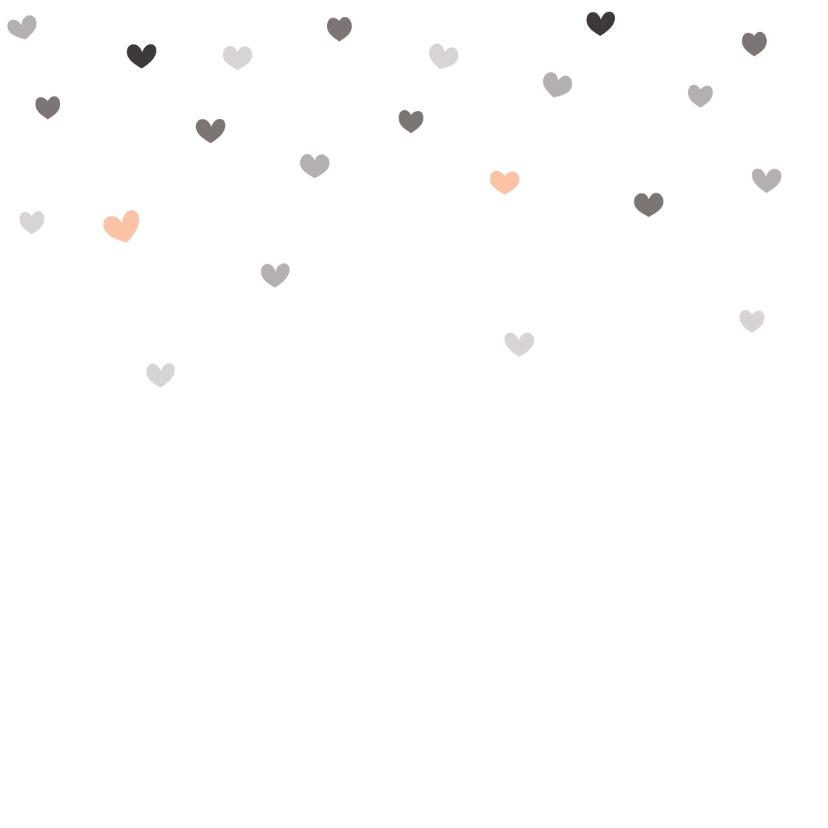 Moederdagkaart met hartjes - HB 2