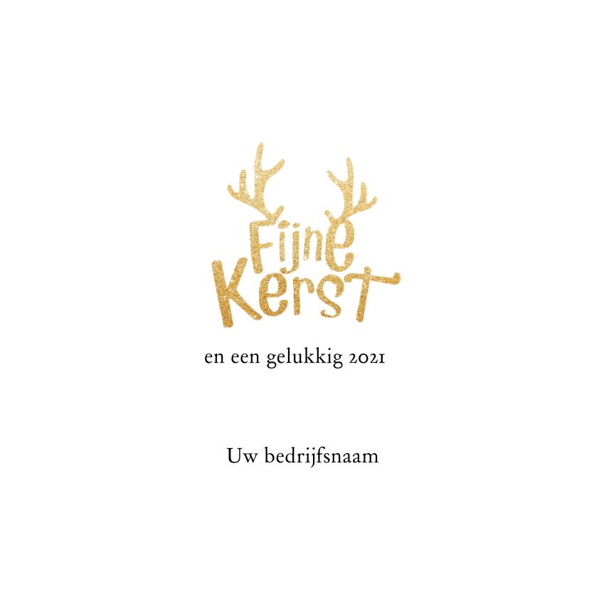 mooie kerstkaart typografisch 3