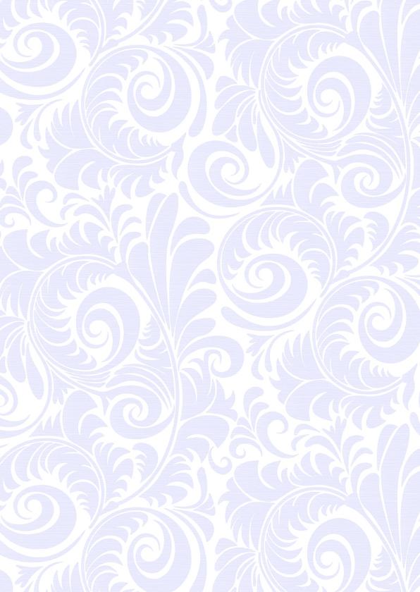 Mooie uitnodiging met suggestie van gevouwen blad 2