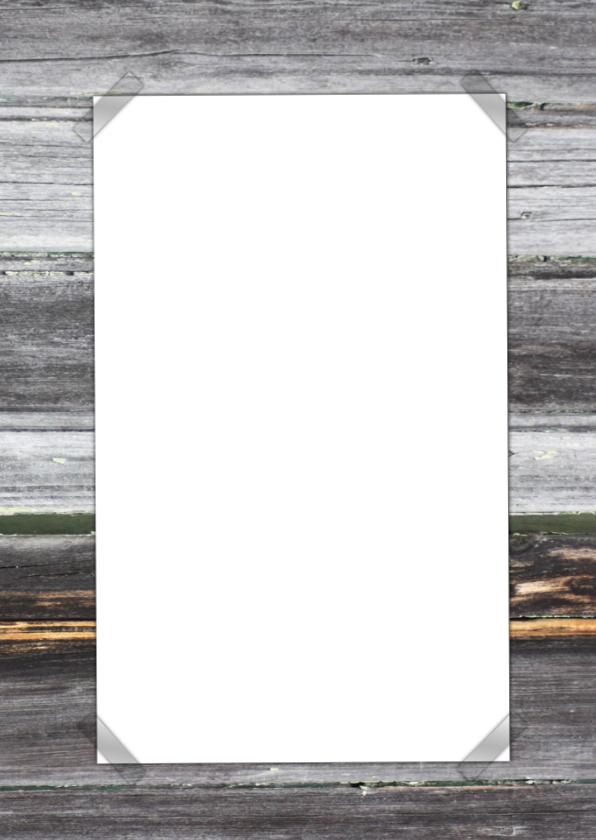 naamkaartje hout foto en tekst 2