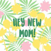 Sterkte kaarten - New mom